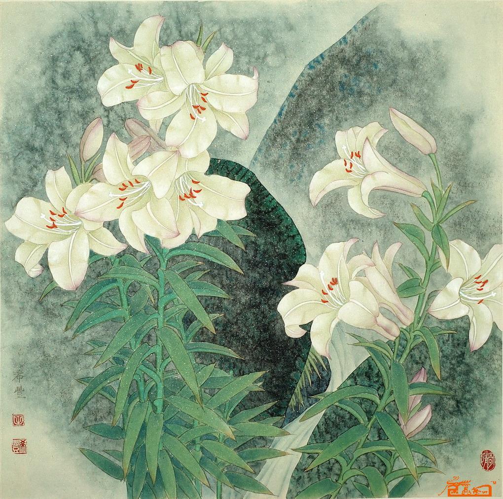 田希丰1958年生于北京。现为中国工笔画学会会员、北京美术家协会会员、北京工笔重彩画会会员、工笔花鸟画坛实力派画家。工笔花鸟画师承著名画家王庆升先生,并得到诸多工笔名家指导。他崇尚精品,深居简出,潜心研究工笔花鸟画近三十年,擅长画牡丹、荷花、兰花,创作了大量的工笔花鸟画作品。全国享有声誉的美术专业出版社为其出版十本个人专集。他的每一幅作品都来源于自己对自然的亲临感受和写生,并通过艺术加工而产生。他追求中国古代院体画风格,创作十分认真,一丝不苟。幅幅作品不仅严谨、精致,且注入画家真情实感,画面